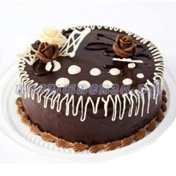 торт-шоколадно-бисквитный